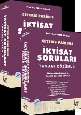 Ceteris Paribus - İktisat Soruları Tamamı Çözümlü Yüksel Bilgili
