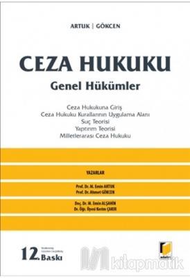 Ceza Hukuku - Genel Hükümler (Ciltsiz)