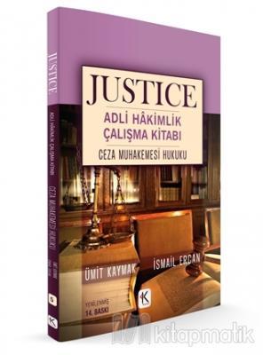 Ceza Muhakemesi Hukuku - Justice Adli Hakimlik Çalışma Kitabı