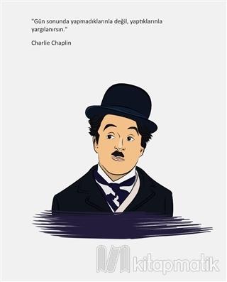 Charlie Chaplin - Ciltli Defter