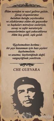 Che Guevara Ölüm Poster