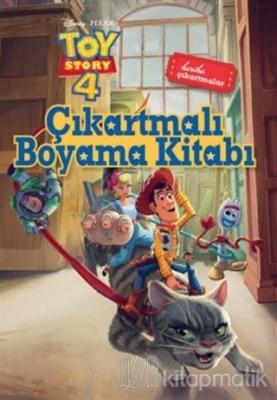 Çıkartmalı Boyama Kitabı - Toy Story 4