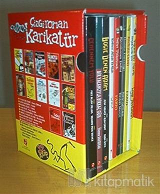 Çizgi Roman Karikatür Dizisi (10 Kitap Takım)