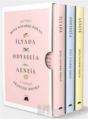 Çocuklar İçin Destanlar: İlyada - Odysseia - Aeneis (3 Kitap Takım)