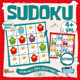 Çocuklar İçin Sudoku Boyama (4+ Yaş) Kolektif