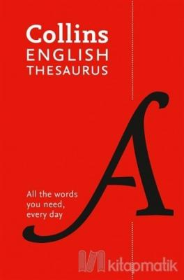 Collins English Thesaurus (8th Edition)