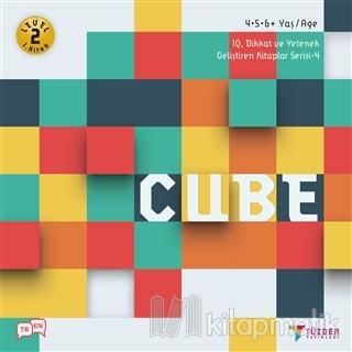 Cube - IQ Dikkat ve Yetenek Geliştiren Kitaplar Serisi 4 (Level 2)