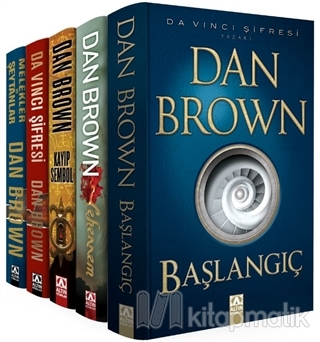 Dan Brown Seti - Robert Langdon Serisi (5 Kitap Takım) Dan Brown