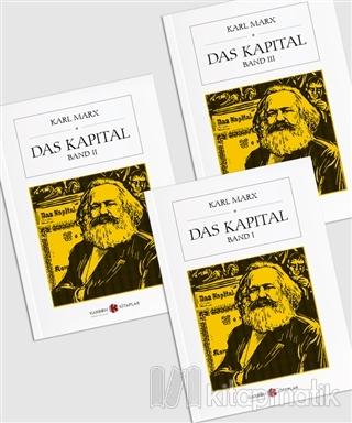 Das Kapital Seti Almanca (3 Kitap Takım) Karl Marx