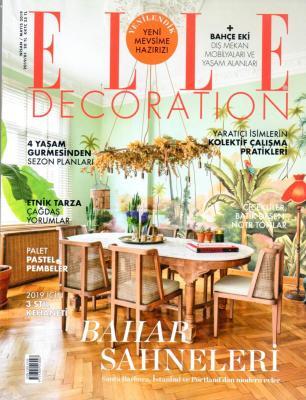 Elle Decoration Dergisi Nisan/Mayıs 2019