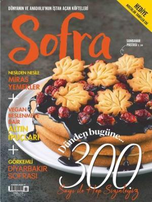 Sofra Dergisi Kasım 2020