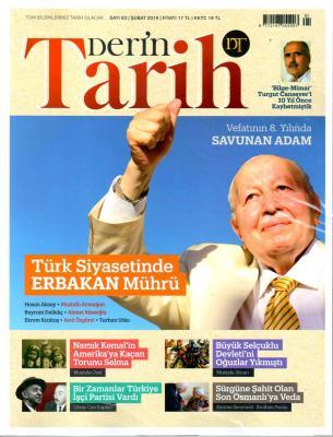 Derin Tarih Dergisi Şubat sayısı