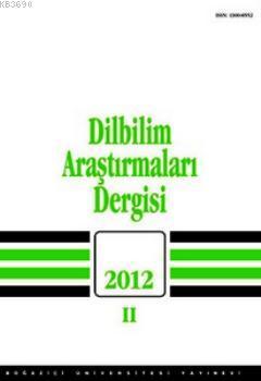 Dilbilim Araştırmaları 2012 / 2