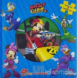 Disney Mickey ve Çılgın Yarışçılar İlk Yapboz Kitabım