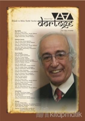 Dörtöğe Felsefe ve Bilim Tarihi Yazıları Hakemli Dergi Yıl: 7 Sayı: 14