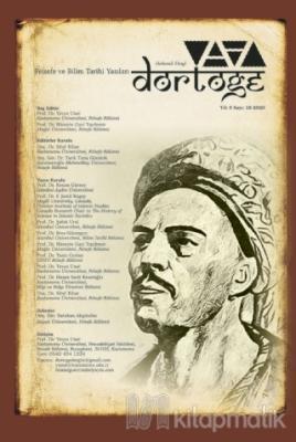 Dörtöğe Felsefe ve Bilim Tarihi Yazıları Hakemli Dergi Yıl: 9 Sayı: 18
