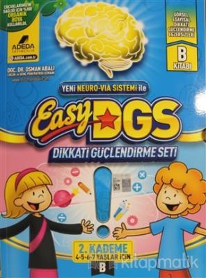 Easy DGS Dikkati Güçlendirme Seti (4 - 5 - 6 - 7 Yaşlar İçin) 2. Kademe B