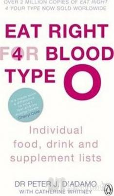 Eat Right For Blood Type O