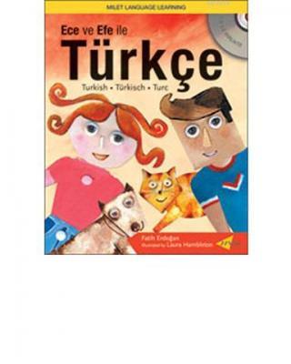 Ece ve Efe İle Türkçe (kitap+cd)