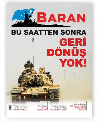 Baran Haftalık Siyasi Dergi  17 Ocak 2019-3 Sayı:627