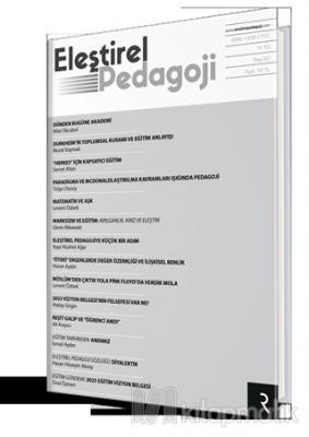 Eleştirel Pedagoji Dergisi Yıl: 10 Sayı: 60 Ocak - Mart 2019