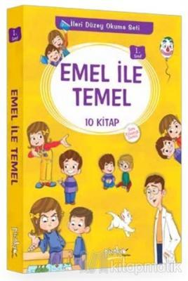 Emel ile Temel 1. Sınıf İleri Düzey Okuma Seti (10 Kitap Takım) Kolekt