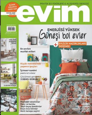 Evim Pratik Ev Fikirleri & Alışveriş Dergisi Sayı: 159 Mayıs 2019
