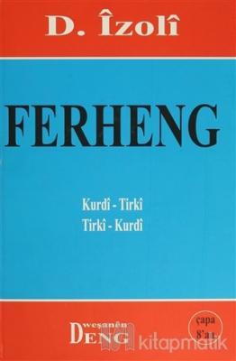 Ferheng Kurdi-Tirki  Tirki-Kurdi (Ciltli)