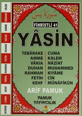 Fihristli 41 Yasin (Yas-111/P13)