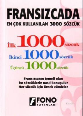 Fransızcada En Çok Kullanılan 3000 Sözcük