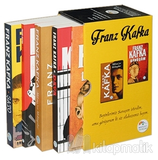Franz Kafka Seti (5 Kitap Takım Kutulu)
