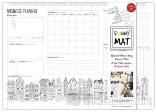Funny Mat Çalışma Masam/Business Planer