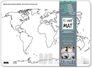 Funny Mat - Dünya Kıtalar Dilsiz Haritası