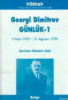 Georgi Dimitrov'un Günlükleri (3 Cilt Takım)
