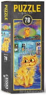 Golden Cat - Puzzle Kolektif