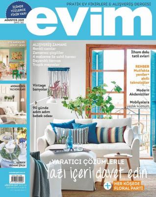 Evim Dergisi Sayı: 162 Ağustos 2019