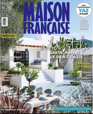 Maison Française Dergisi Sayı: 290 Ağustos 2019