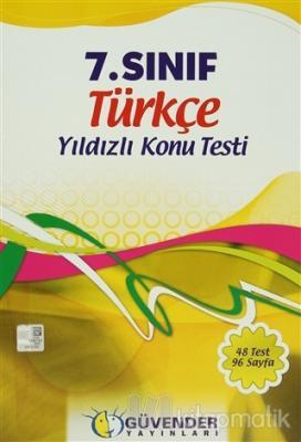 Güvender - 7. Sınıf Türkçe Yıldızlı Konu Testi