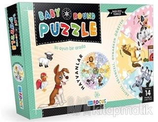 Hayvanlar / Baby Round - Puzzle (BF074)