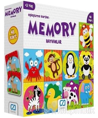Hayvanlar - Memory Eşleştirme Kartları