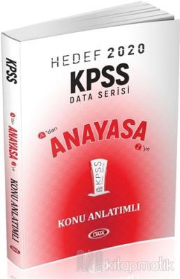 Hedef 2020 KPSS Anayasa Konu Anlatımlı Kolektif