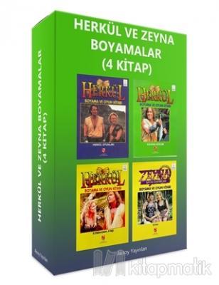Herkül ve Zeyna Boyama Kitapları (4 Kitap Set)