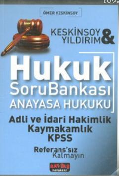 Hukuk Soru Bankası - Anayasa Hukuku