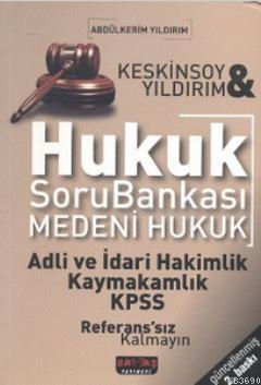 Hukuk Soru Bankası Medeni Hukuk