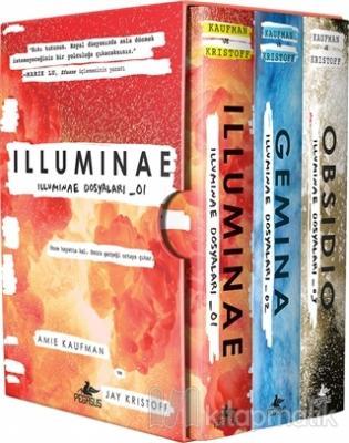 İlluminae Dosyaları Serisi - Kutulu Set (3 Kitap) (Ciltli) Amie Kaufma