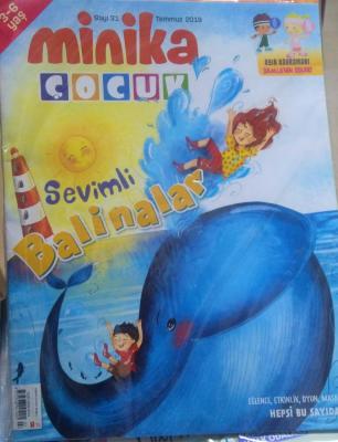Minika Çocuk Dergisi Sayı: 31 Temmuz 2019