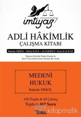 İmtiyaz Adli Hakimlik Çalışma Kitabı - Medeni Hukuk Metin Kaya