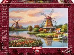 (4354) Parça Yel Değirmenleri-Windmills