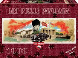 (4476) Parça Panorama Atatürk Kolajı Collage Of Atatürk