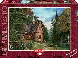 Kütük Ev 1500 (4621)Parça Puzzle